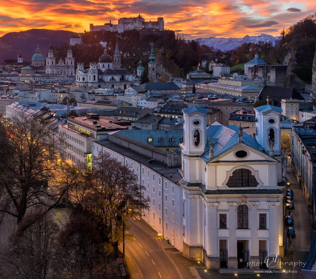 Sunrise at Salzburg